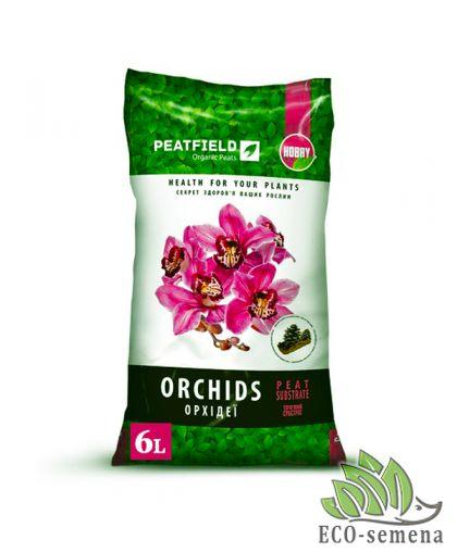Субстрат торфяной для Орхидей, Peatfield, 6 л