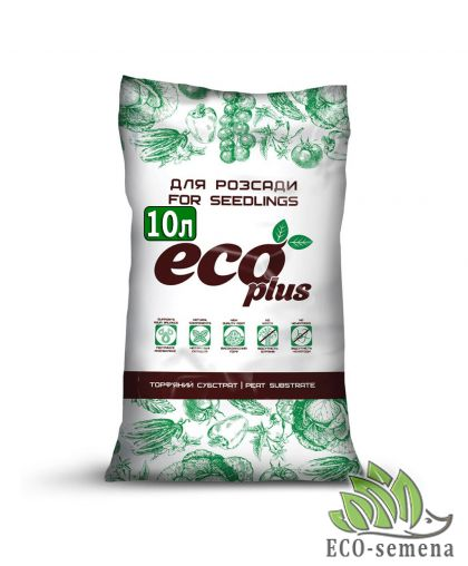 Субстрат Торфяной для Расады, Eco Plus, 10 л