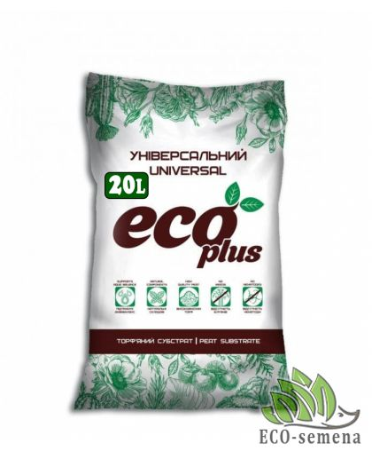 Субстрат Универсальний, Eco Plus, 20 л