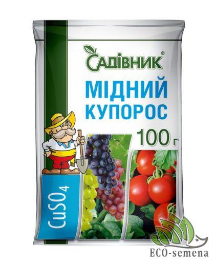 Фунгицид Медный купорос, Садовник, 100 г