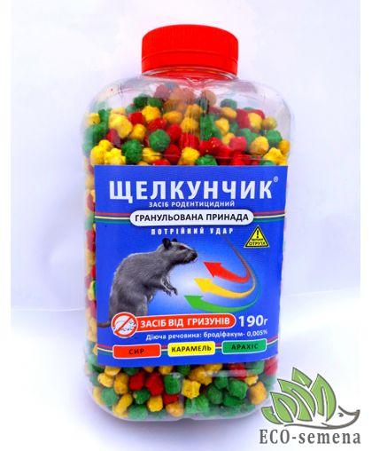 Гранула Щелкунчик от Крыс и Мышей - 3 вкуса, 190 г