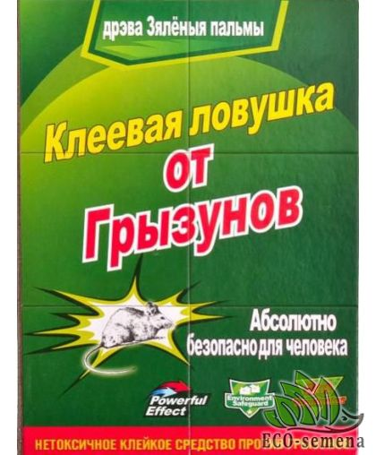 Клеевая книжка ловушка от грызунов, большая 15* 20 см