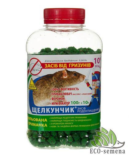 Гранула Щелкунчик от Крыс и Мышей - Орех, Арахис, 110 г