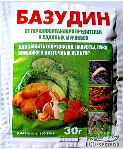 Инсектицид Базудин, Сухой порошок, от проволочника, 30 г