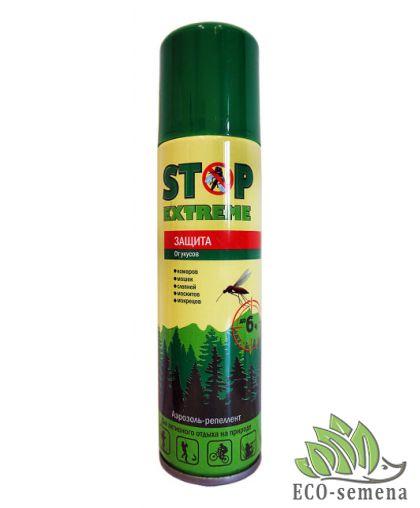 Аэрозоль от комаров Stop Extreme, 150мл