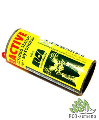 Липкая клейкая лента от мух - Ecostripe Attractive (Экострайп), Чехия