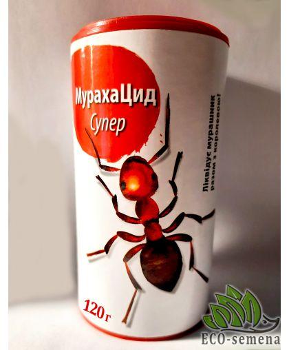 МурахаЦид, гранула от муравьев, красный сахар, 120 г