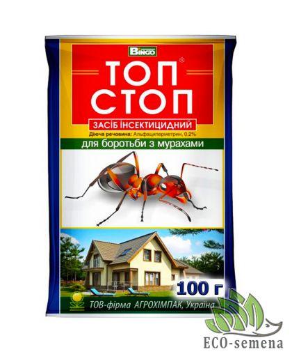 Топ-Стоп, гранула от муравьев, Агрохимпак, 100 г