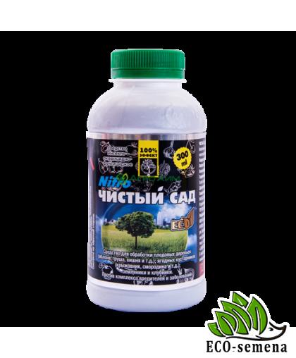 Инсекто-акарицид Чистый сад Нитро с фунгицидным эффектом / 300 мл