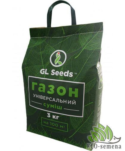 Семена Газонная трава  Универсальная, Gl-Seeds, 3 кг