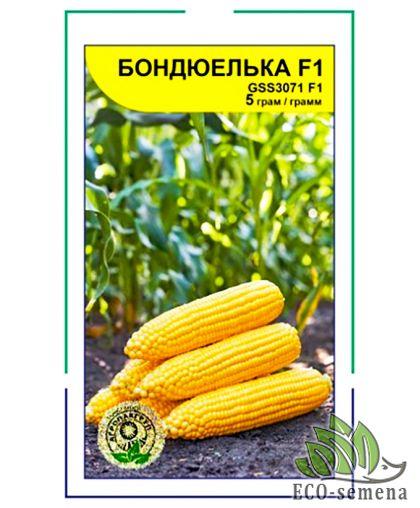 Агропакгруп. Семена Кукуруза сахарная Бондюелька F1, 5 г