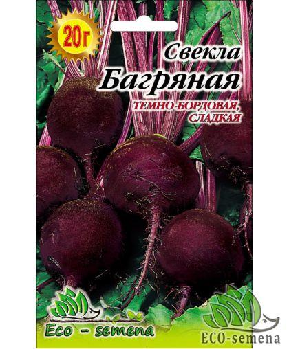 Eco-Semena. Семена Свекла столовая Багряная, 20г