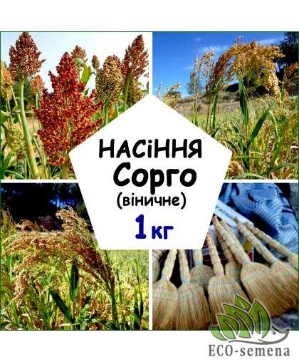 Семена Сорго веничное, 1 кг