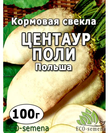 Семена Свекла кормовая Центаур Поли (Белая), Польша, 100 г