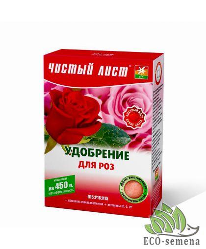 Удобрение Чистый Лист Для Розы, 300 г