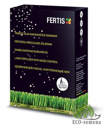 Удобрение Фертис для Газона, Комплексное, Fertis, 1 кг
