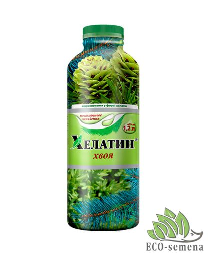 Удобрение Хелатин для Хвойных растений, 1,2 л