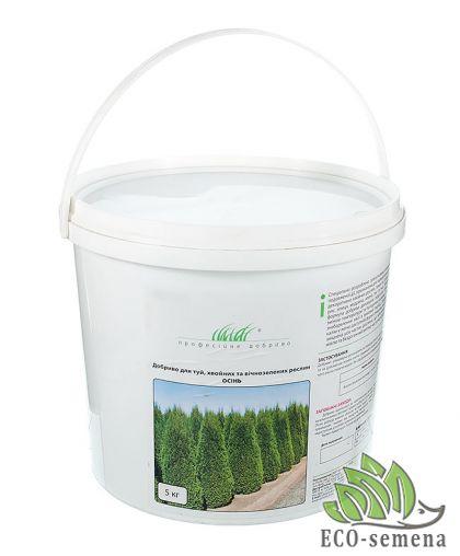 Удобрение для Туй, хвойных и вечнозеленых, Профсемена, 5 кг