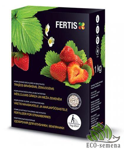Удобрение Fertis для Клубники без Хлора, 1 кг