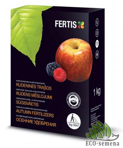 Fertis. Удобрение Осеннее для Плодовых деревьев и Ягод, фосфорно-калийное, 1 кг
