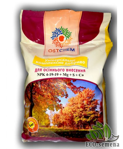Ostchem. Удобрение Осеннее Универсальное, 3 кг